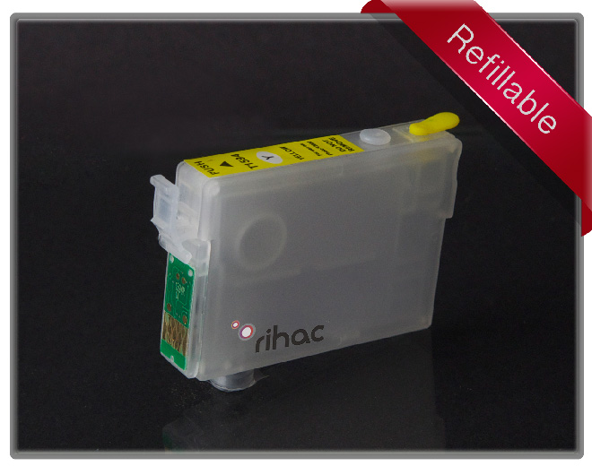R2000 Refillable Cartridge Yellow