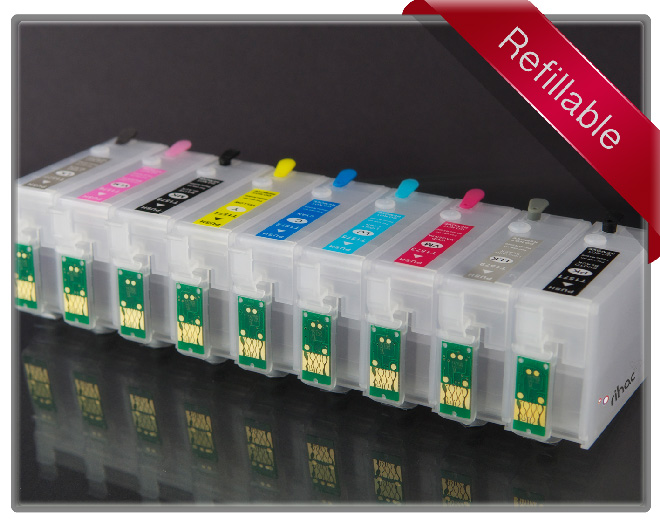 R3000 Refillable Cartridge Set x 9