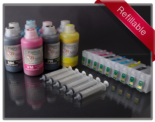 R3000 250ml Starter Kit- Cartridges & Ink
