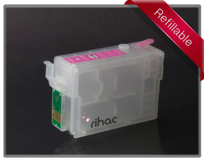 R3000 Refillable Cartridge Vivid Light Magenta