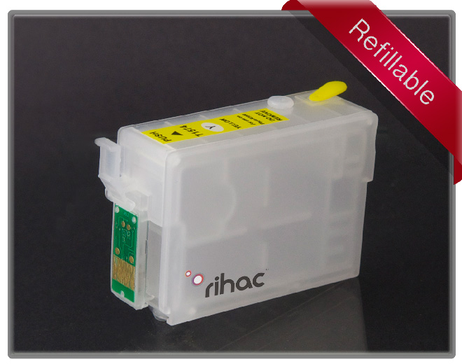 R3000 Refillable Cartridge Yellow