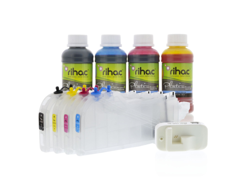 Dye Refillable Cartridge Kit for Brother LC-3319