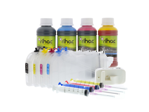 Dye Refillable Cartridge Kit for Brother LC-3313