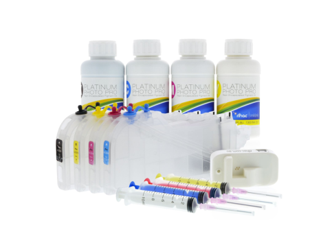 Pigment Refillable Cartridge Kit for Brother LC-3319