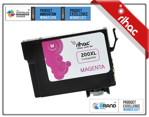 200XL Magenta Premium Single Use Cartridge