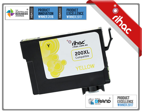 200XL Yellow Premium Single Use Cartridge