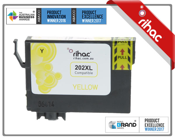 202XL Yellow Premium Single Use Cartridge