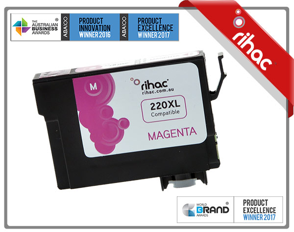 220xl Magenta Premium Pigment Single Use Cartridge