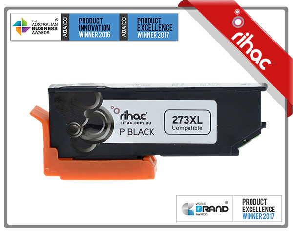 273XL Photo Black Premium Single Use Cartridge
