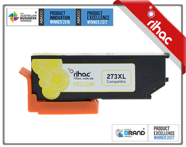 273XL Yellow Premium Single Use Cartridge
