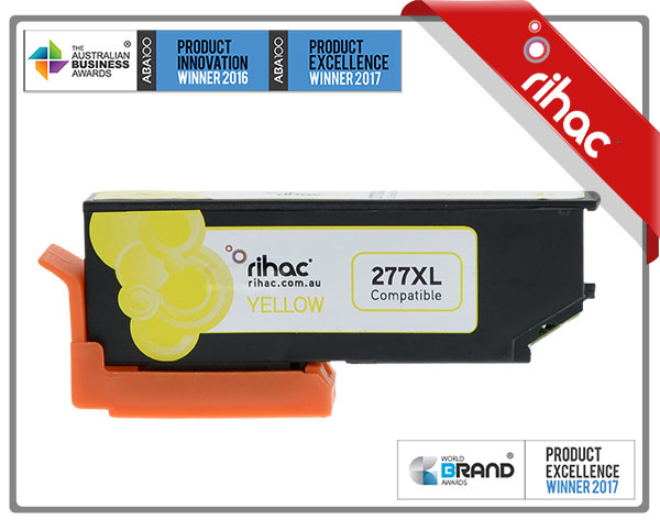 277XL Yellow Premium Single Use Cartridge