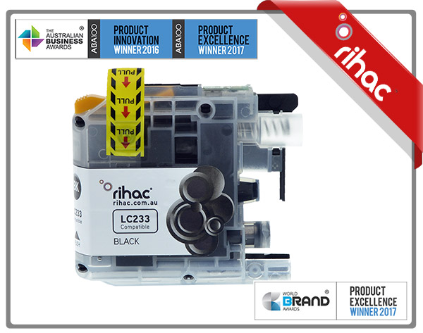 LC233 Rihac Black Ink Cartridge