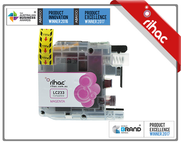 LC233 Rihac Magenta Ink Cartridge