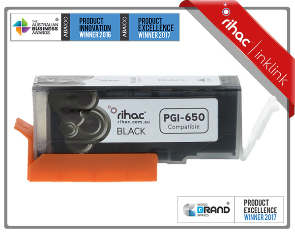 Rihac PGI-650XL Pigment Black Premium Cartridge