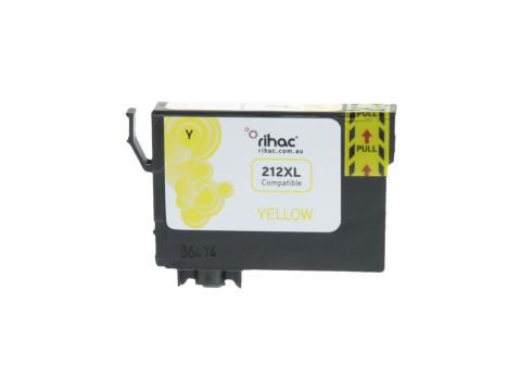 212XL Yellow Premium Single Use Cartridge