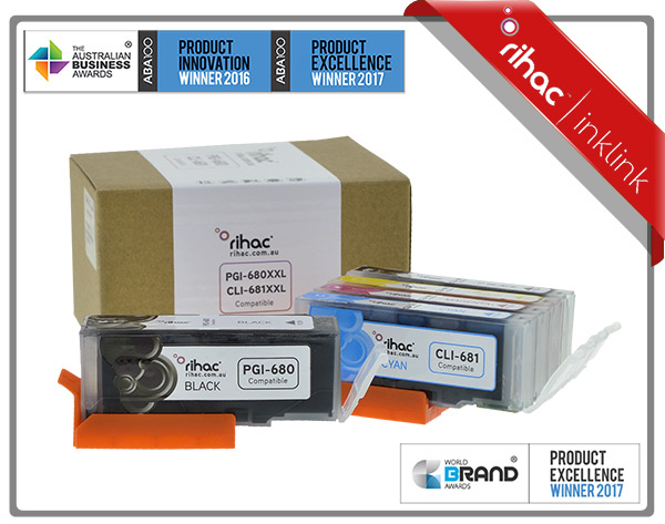 5 Set CLI-651XL & PGI-650XL Premium Rihac Cartridges