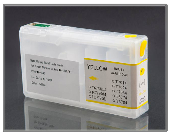 Workforce Pro 4530 & 4540 Refillable Cartridge Yellow