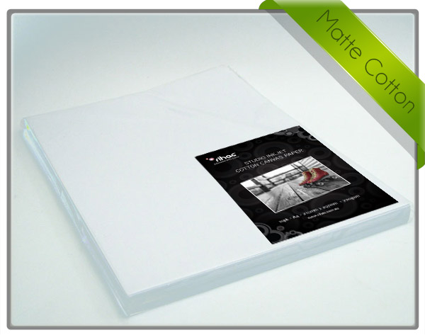 rihac A4 Matte Inkjet Cotton Canvas 380gsm