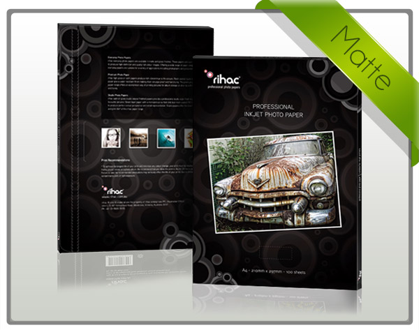High Resolution Matte Inkjet Paper 108gsm A4x100sheet