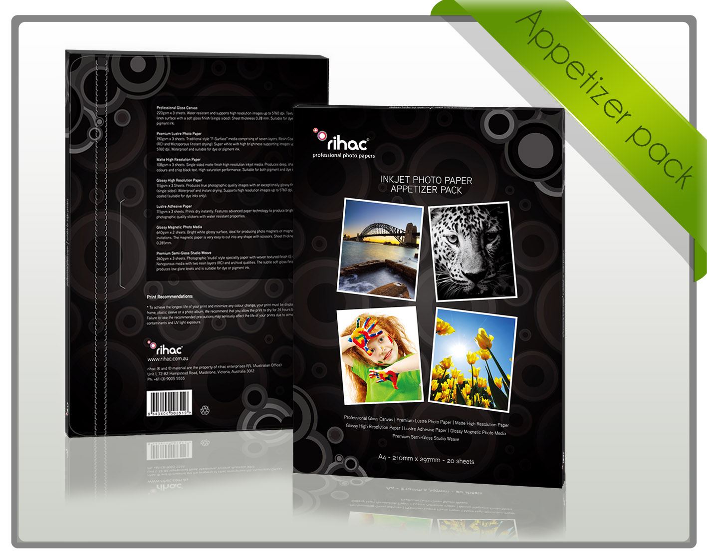 Inkjet Photo Paper Appetizer pack