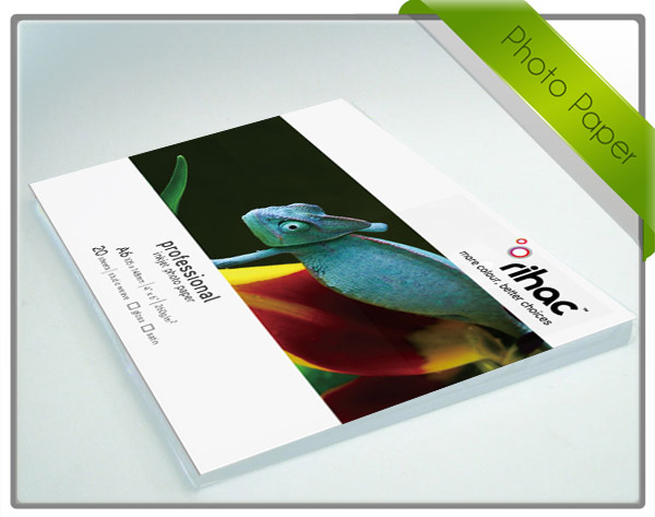Double Sided rihac A4x20 High Gloss Inkjet Paper 155gsm