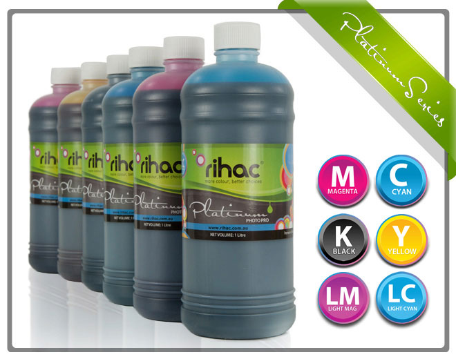 6 x 1ltr Ink Set T0491-T0496 compatible